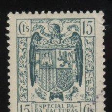 Sellos: S-2637- FISCAL. ESPECIAL MOVIL PARA FACTURAS Y RECIBOS. Lote 22934348