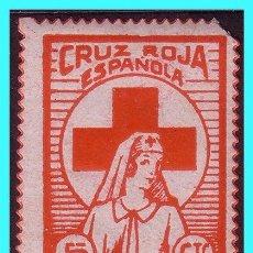 Sellos: CRUZ ROJA ESPAÑOLA, GUERRA CIVIL, FESOFI Nº 1660 * *. Lote 24372270