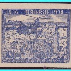 Timbres: 2º ANIVº DEFENSA DE MADRID, GUERRA CIVIL, 50 CTS AZUL * *. Lote 24537270