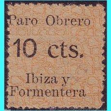 Sellos: BALEARES, IBIZA Y FORMENTERA. GUERRA CIVIL, FESOFI Nº 23 (*). Lote 24800229
