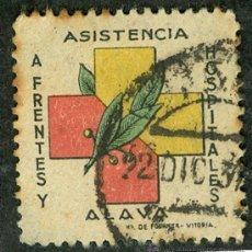 Sellos: SELLO ** ASISTENCIA A FRENTES Y HOSPITALES ALAVA ** (VER OFERTAS SELLOS GUERRA CIVIL). Lote 25218184