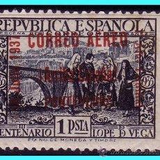 Sellos: ELP PONTEVEDRA 1937 SELLO REPUBLICANO EDIFIL Nº 30 * MARQUILLADO. Lote 25599954