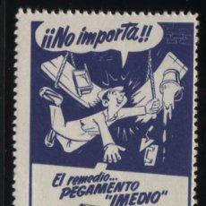 Sellos: S-4893- EL REMEDIO PEGAMENTO IMEDIO . Lote 32011605