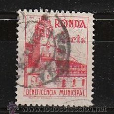 Sellos: RONDA. BENEFICENCIA MUNICIPAL. 5 CTS.. Lote 26231595