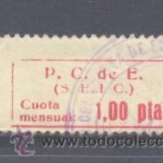 Francobolli: VIÑETA POLITICA REPUBLICANA. Lote 26658110