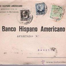 Sellos: CARTA CON MEMBRETE.BANCO HISPANO AMERICANO DE SANLÚCAR DE BARRAMEDA A SEVILLA.DE 4-FEB.1937. Lote 26710666