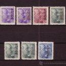 Sellos: MALAGA 60/66* - AÑO 1939 - MALAGA SALUDA AL CONDE CIANO - 17 -7 -39. Lote 26729675