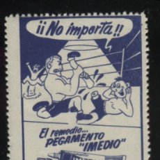 Sellos: S-4896- EL REMEDIO PEGAMENTO IMEDIO . Lote 32011856