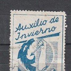 Sellos: AUXILIO DE INVIERNO. 10 CTS.. Lote 27411256