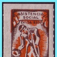 Sellos: ASISTENCIA SOCIAL, GUERRA CIVIL, GUILLAMON Nº 2492 *. Lote 27547159