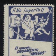 Sellos: S-4898- EL REMEDIO PEGAMENTO IMEDIO . Lote 32011889