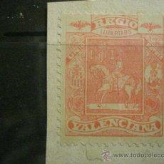 Sellos: 55 VALENCIA REGIO VALENCIANA RARO PATRIOTICO REGIONALISTA AÑOS 1900 ESPAÑA - NUEVO . Lote 28156893