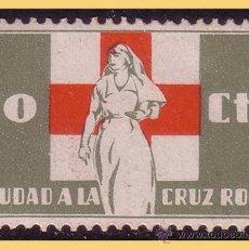 Sellos: GUERRA CIVIL. CRUZ ROJA ESPAÑOLA, GUILLAMON Nº 1650 * *. Lote 28455347