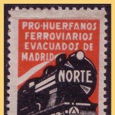 Sellos: GUERRA CIVIL. PRO REFUGIADOS, GUILLAMON Nº 2554 (*). Lote 28455997