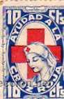 AYUDA A LA CRUZ ROJA. 10 CTS. 1937. GUERRA CIVIL. (Sellos - España - Guerra Civil - Viñetas - Nuevos)