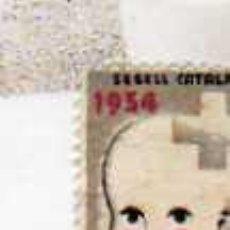 Sellos: SELLO GUERRA CIVIL. 1934 REPUBLICA SEGELL CATALA AJUT INFANTS AYUDA INFANCIA. Lote 28493912