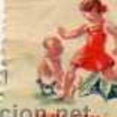 Sellos: SELLO GUERRA CIVIL. 1934 REPUBLICA SEGELL CATALA AJUT INFANTS AYUDA INFANCIA. Lote 28493935