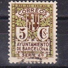 Sellos: ,,BARCELONA 12 USADA, ESCUDO DE LA CIUDAD, . Lote 73476597