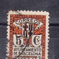 Sellos: ,,BARCELONA 11 USADA, ESCUDO DE LA CIUDAD, . Lote 52552359