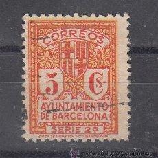Sellos: ,,BARCELONA 10 USADA, ESCUDO DE LA CIUDAD, . Lote 52552379