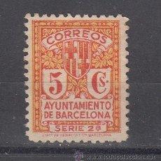 Sellos: ,,BARCELONA 10 SIN GOMA, ESCUDO DE LA CIUDAD,. Lote 45410349
