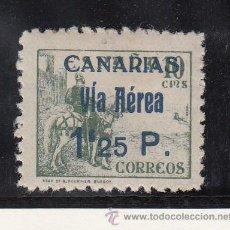 Sellos: ,,CANARIAS 46HA CON CHARNELA, VARIEDAD DE COMPOSICION -VIA- CON -I- MAYUSCULA. Lote 28512427