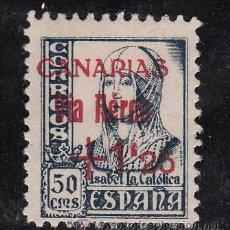 Sellos: ,,CANARIAS 51 SIN GOMA, SOBRECARGADO, . Lote 52288188