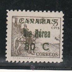 Sellos: ,,CANARIAS 45 SIN CHARNELA, SOBRECARGADO. Lote 56475275