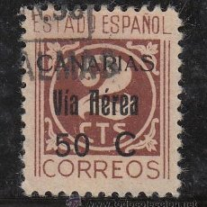 Sellos: ,,CANARIAS 44 USADA, SOBRECARGADO. Lote 52288276