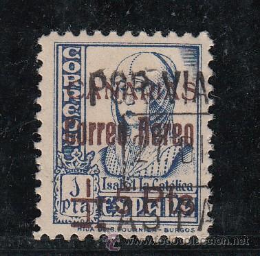 ,,CANARIAS 43 USADA, SOBRECARGADO, (Sellos - España - Guerra Civil - Beneficencia)