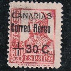 Sellos: ,,CANARIAS 40 USADA, SOBRECARGADO,. Lote 137540364