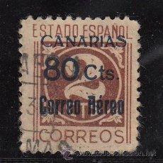 Sellos: ,,CANARIAS 38 SIN PIE DE IMPRENTA USADA, SOBRECARGADO, . Lote 28558223