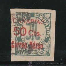 Sellos: ,,CANARIAS 37 USADA, SOBRECARGADO, . Lote 52288286