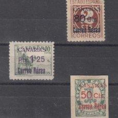 Sellos: ,,CANARIAS 37/9 CON CHARNELA, SOBRECARGADO, . Lote 28558296