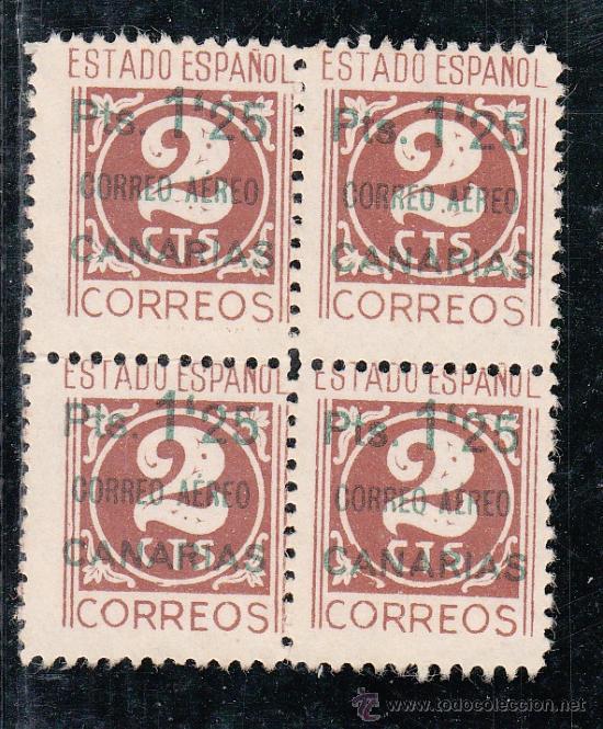 ,,CANARIAS 36 SIN PIE DE IMPRENTA SIN GOMA, SOBRECARGADO, (Sellos - España - Guerra Civil - Beneficencia)