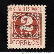 Sellos: ,,CANARIAS 36 CON PIE DE IMPRENTA USADA, SOBRECARGADO, . Lote 28558415