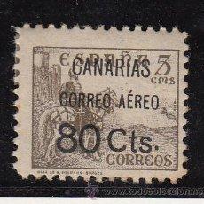 Sellos: ,,CANARIAS 25 CON CHARNELA, SOBRECARGADO, . Lote 165496712