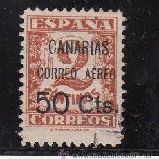 Sellos: ,,CANARIAS 23 USADA, SOBRECARGADO, VARIEDAD -CORREO AEREO- MAS SEPARADO . Lote 28570836