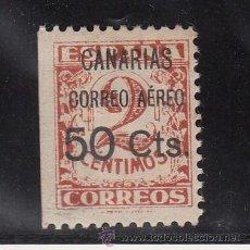 Sellos: ,,CANARIAS 23 CON CHARNELA, SOBRECARGADO, VARIEDAD MARGEN IZDA. SIN DENTAR, . Lote 28570917