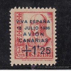 Sellos: ,,CANARIAS 17 CON CHARNELA, SOBRECARGADO, . Lote 47018155