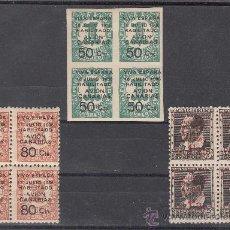 Sellos: ,,CANARIAS 4A/5A CON CHARNELA, 7 SIN GOMA, EN B4, SOBRECARGADO,. Lote 28596018