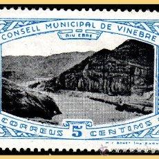 Sellos: TARRAGONA VINEBRE, GUERRA CIVIL, FESOFI Nº 1 *. Lote 28513886