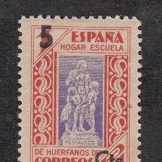 Sellos: ,,BENEFICENCIA HUERFANOS DE CORREOS 27 CON CHARNELA, SOBRECARGADO,. Lote 262124115