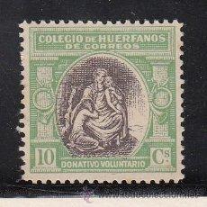 Sellos: ,,BENEFICENCIA HUERFANOS DE CORREOS BENEFICO 2 CON CHARNELA,. Lote 28556217