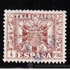 Sellos: ,,TELEGRAFOS 91 USADA, ESCUDO DE ESPAÑA,. Lote 262124350