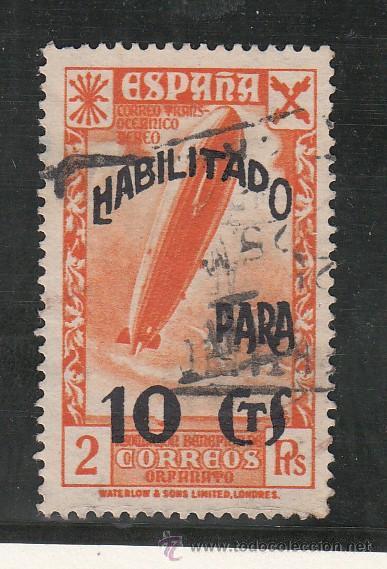 ,,BENEFICENCIA HUERFANOS DE CORREOS 51 USADA, (Sellos - España - Guerra Civil - Beneficencia)