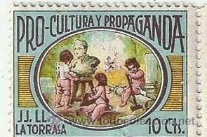 PRO-CULTURA Y PROPAGANDA (Sellos - España - Guerra Civil - Viñetas - Nuevos)