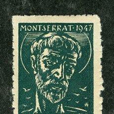 Sellos: SELLO **SAN FRANCISCO -MONTSERRAT-** 1947 (VER SELLOS GUERRA CIVIL, LOCALES Y VIÑETAS EN VENTA). Lote 28635373