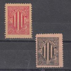Sellos: ,,LOCAL PARTIDOS .VISCA CATALUNYA 1899 SIN GOMA, . Lote 28724604