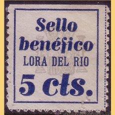 Sellos: SEVILLA LORA DEL RIO GUERRA CIVIL. FESOFI Nº 1 *. Lote 28723295